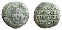 Ancient Coins - BYZANTINE, Leo VI the Wise, AE Follis, Constantinople mint, 870-912