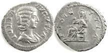 Ancient Coins - JULIA DOMNA.  AR denarius. Rome mint. Struck circa AD 207-211