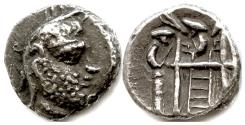 Ancient Coins - PERSIS, UNKNOWN KING I. AR drachm, 2nd century BC