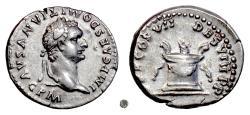 Ancient Coins - DOMITIAN.  AR Denarius, Rome mint, 81-96 AD