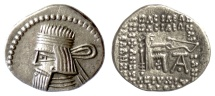 Ancient Coins - KINGS of PARTHIA, Artabanos IV. AR Drachm. Ekbatana mint, circa AD 10-38