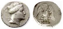 Ancient Coins - Pontos, Amisos. AR drachm, circa 300-250 BC