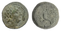 Ancient Coins - SELEUKID KINGS, Antiochos VIII. AE denomination B, Antioch mint, 121-96 BC