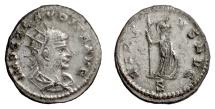Ancient Coins - CLAUDIUS II GOTHICUS. Antoninianus, Antioch, circa 268-269 AD. Minerva