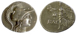 Ancient Coins - PAMPHYLIA, Side. AR Tetradrachm, Kleuch-, magistrate, circa 145-125 BC