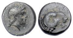 Ancient Coins - TROAS, Kebren. AE 9.5, circa 387-310 BC