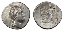Ancient Coins - BITHYNIA, Nikomedes IV Philopator. AR Tetradrachm. Dated 206 BE (92/1 BC)