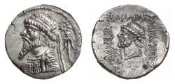 Ancient Coins - ELYMAIS, Kamnaskires V. AR tetradrachm, Seleukeia on the Hedyphon mint. 42/41 BCE