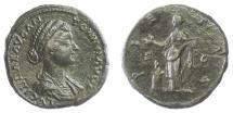 Ancient Coins - Lucilla. AE sestertius, Rome mint. Struck AD 164-166