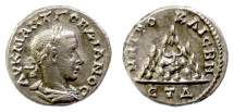 Ancient Coins - Gordian III. Cappadocia, Caesarea. AR drachm, Regnal year 4 (AD 240/1)