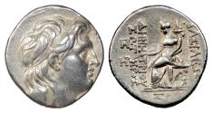 Ancient Coins - SELEUKID, Demetrios I Soter. AR tetradrachm, Antioch on the Orontes mint 153/2 BC