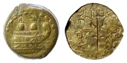 Ancient Coins - SELEUKID KINGS, Antiochos VII Euergetes. AE denomination A,  Antioch mint, 138-129 BC