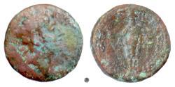 Ancient Coins - SELEUKID, Antiochos VIII Epiphanes. AE denom B, Laodikeia  in Phoenicia, 121-96 BC