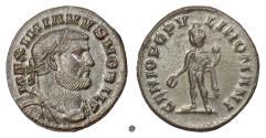 Ancient Coins - MAXIMIANUS.  AE follis, Londinium mint, circa 297-305 AD