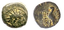 Ancient Coins - SELEUKID KINGS, Antiochos VIII. AE denom B, Antioch. Radiate head / Eagle