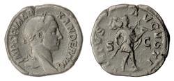Ancient Coins - Severus Alexander. AE Sestertius, Rome, 228 AD. Severus as Romulus