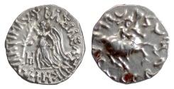 Ancient Coins - BAKTRIA, Antimachos II. AR Drachm, circa 160-155 BC. Nike / Antimachos on horse