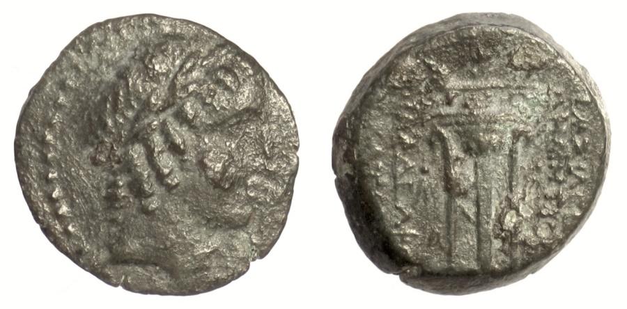 Ancient Coins - SELEUKID KINGS of SYRIA, Demetrios II Nikator. AE denomination B. RARE