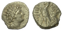 Ancient Coins - SELEUKID KINGS, Antiochos VIII Epiphanes. AE denomination B, Antioch. Eagle