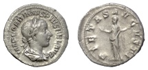 Ancient Coins - Gordian III. AR denarius. Rome mint, AD 240