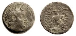 Ancient Coins - SELEUKID KINGS, Antiochos VI Dionysos. AE denomination B, Apamea? 144-142 BC
