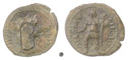 Ancient Coins - GALLIENUS, Thracian Chersonese, COELA. AE 20.  Countermarks: large B and small dot