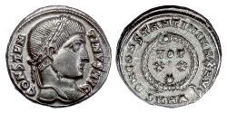 Ancient Coins - CONSTANTINE I. AE follis, Heaclea mint 324 AD