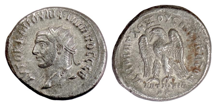 Ancient Coins - PHILIP I. SYRIA, Seleukis and Pieria. Antioch. AR Tetradrachm, struck 248 AD