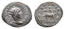 Ancient Coins - Trajan Decius. AR Antoninianus, Rome mint, AD 250