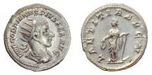Ancient Coins - GORDIAN III. AR Antoninianus, Rome mint, 240-243 AD.