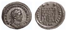 Ancient Coins - Constantinus II. Billon centenionalis, London mint, struck 324-325 AD