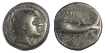 Ancient Coins - SELEUKID KINGS of SYRIA, Antiochos IV Epiphanes. AE denomination B, Tyre mint, dated SE 139 (174/173 BC)
