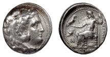 Ancient Coins - SELEUKID, Seleukos I Nikator. AR tetradrachm, Babylon I mint, circa 311-300 BC