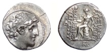 Ancient Coins - SELEUKID KINGS, Alexander I Balas. AR drachm, Antioch 152-145 BCE