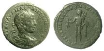 Ancient Coins - Elagabalus. Moesia Inferior, Marcianopolis. AE tetrassarion; Julius Antonius Seleukus, magistrate