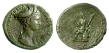 Ancient Coins - Sabina. AE as. Rome mint. Struck under Hadrian, AD 128-134. Ceres