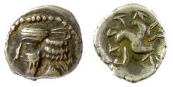 Ancient Coins - PERSIS, PAKOR I. AR hemidrachm, early 1st century AD