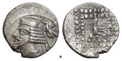 Ancient Coins - PARTHIA, PHRAATES IV. AR Drachm, Ekbatana mint, 38-2 BC
