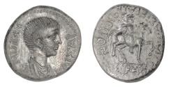 Ancient Coins - NERO, as Caesar. Roman Provincial, PHRYGIA, Hierapolis. AE20