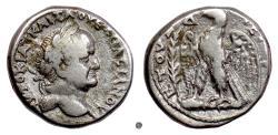 """Ancient Coins - VESPASIAN, Syria, Antiochia. AR tetradrachm, dated """"Holy Year"""" 4 (71/72 AD)"""