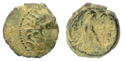 Ancient Coins - SELEUKID KINGS, Antiochos VIII Epiphanes. AE denomination B, Antioch mint, 121-110 BCE
