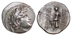 Ancient Coins - SELEUKID KINGS, Alexander I Balas. AR Drachm, circa 151-149 BC. Apollo
