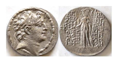 Ancient Coins - SELEUKID KINGS of SYRIA. Seleukos VI Epiphanes Nikator. AR tetradrachm.  Seleukeia on the Kalykadnos mint