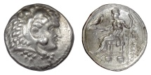 Ancient Coins - Alexander III 'the Great'. AR tetradrachm, Ake mint. Dated CY 35 (312/311 BC)