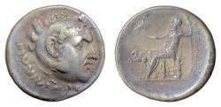 Ancient Coins - Alexander III 'the Great', AR tetradrachm. CARIA, Alabanda, Dated CY 5 (163/2 BC)