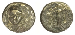 Ancient Coins - SELEUKID KINGS, Antiochos I Soter. AE denomination C, 281-261 BC. Athena / Nike