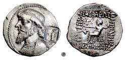 Ancient Coins - ELYMAIS, Kamnaskires IV.  AR tetradrachm, Seleukeia mint, circa 63-53 BC