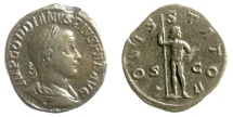 Ancient Coins - Gordian III. AE sestertius. Rome mint, struck AD 241. Jupiter