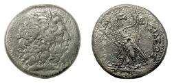 Ancient Coins - PTOLEMAIC EGYPT, Ptolemy III Euergetes. AE tetrobol, Alexandreia,struck 246-230 BC