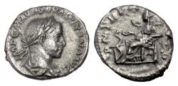 Ancient Coins - Severus Alexander. AR denarius, Rome mint.  222 AD. Salus